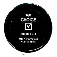 Salon Gel My Choice - Milk Porcelain Ju.Bilej, 15 мл